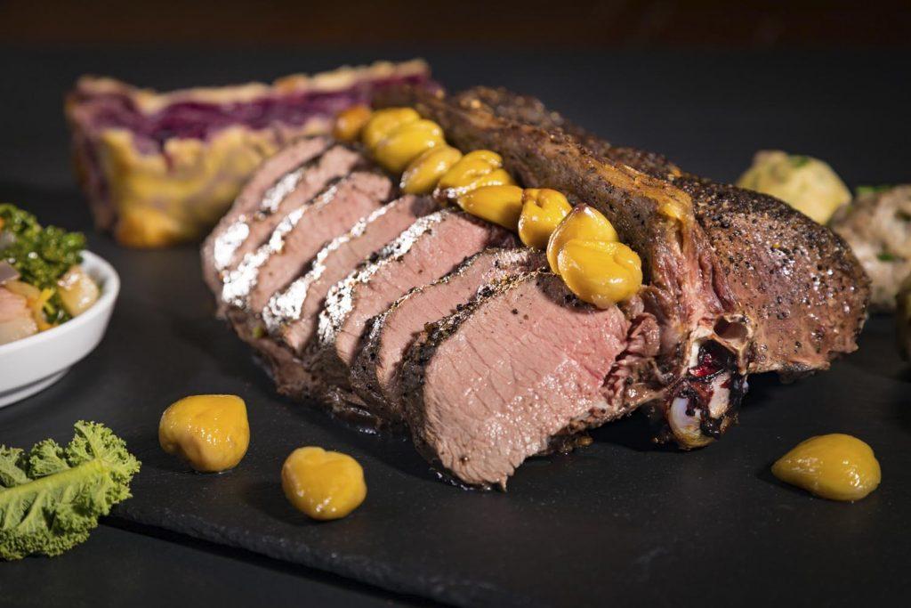 roast venison Gut Jägerhof